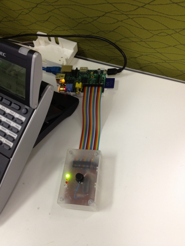 Raspberry Pi Deploy Button